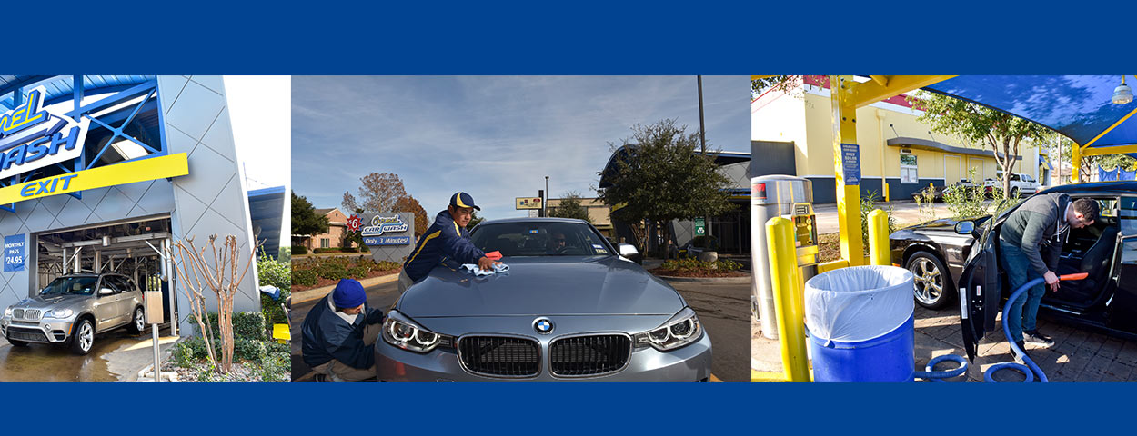 Carmel car wash services step 3 exit the tunnel let us finish up or vacuum yourself solutioingenieria Choice Image
